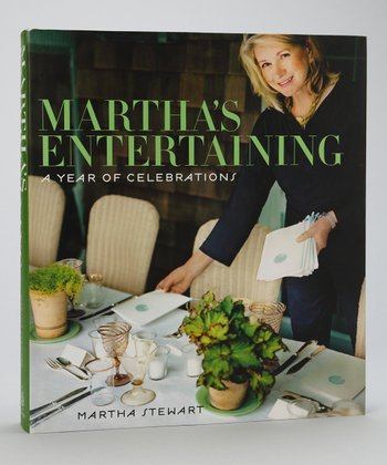 Martha's Entertaining: A Year of Celebrating Hardcover