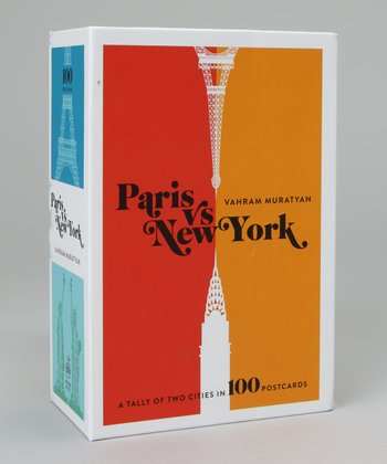 Paris versus New York Postcard Box Set