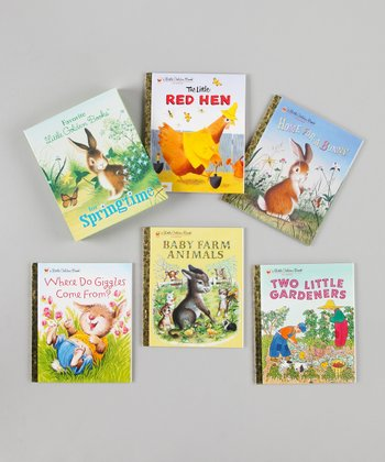 Favorite Little Golden Books for Springtime Boxed Hardcover Set