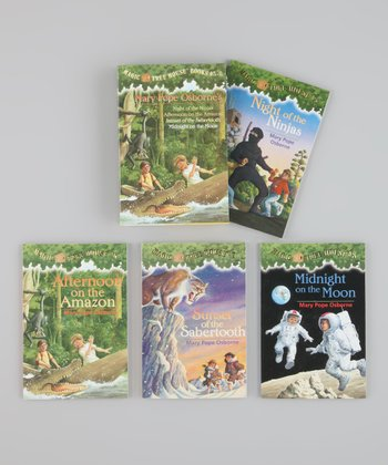 Magic Tree House Books 5-8 Boxed Paperback Set