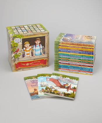 Magic Tree House Boxed Paperback Set