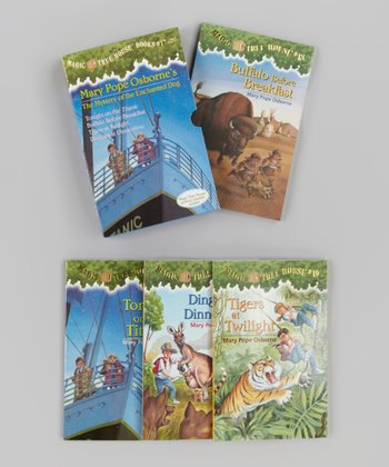 Magic Tree House Books 17-20 Boxed Paperback Set