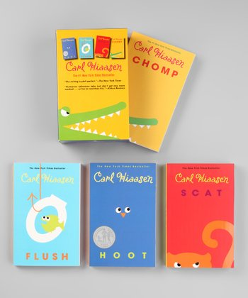 Hoot, Chomp, Scat & Flush Boxed Paperback Set