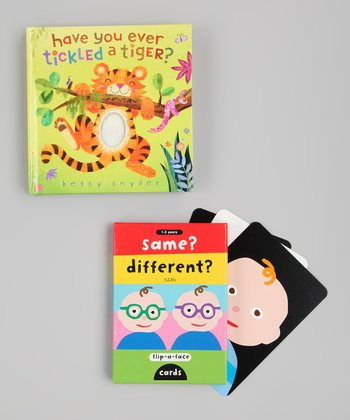 Have You Ever Tickled a Tiger? Board Book & Same Different Cards