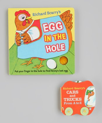 Cars and Trucks: A to Z & Egg in the Hole Board Books