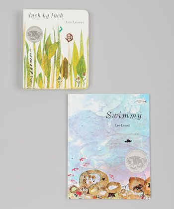 Swimmy Paperback & Inch by Inch Board Book