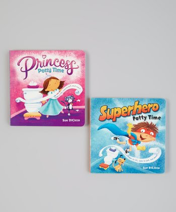Princess & Superhero Board Book Set