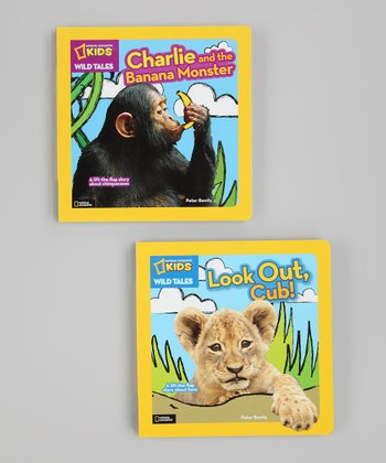 Wild Tales Lift-the-Flap Board Books
