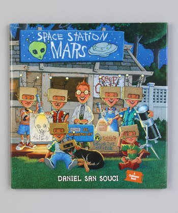 Space Station Mars Hardcover