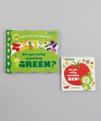 Are You Eating Something Green? Place Mats & Red? Board Book