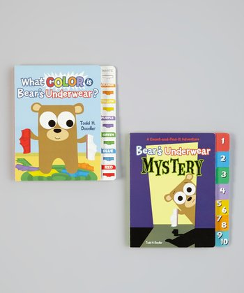 Bear in Underwear Mystery Board Book Set