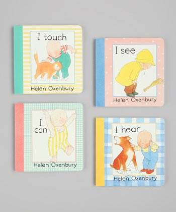 I See, I Can, I Hear & I Touch Board Book Set