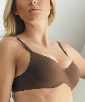 Chocolate Second Skin Bra - Women & Plus