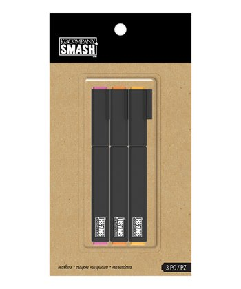 Warm SMASH Marker - Set of Three