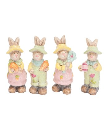 Bunny Friends Figurine Set