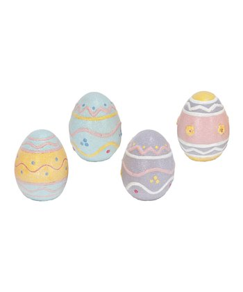 Pastel Egg Large Ornament Set