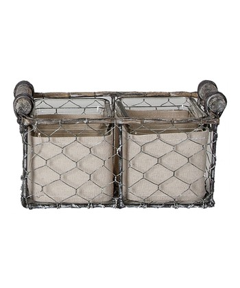 Rectangle Wire Basket Set