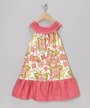 Pink Bohemian Festival Jane Dress - Toddler & Girls
