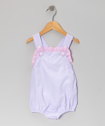 Purple Stripe Bubble Bodysuit - Infant & Toddler