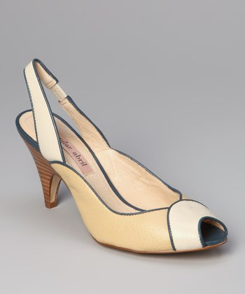 Blue Lake Pipe Slingback
