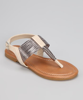 Ivory Steph Sandal