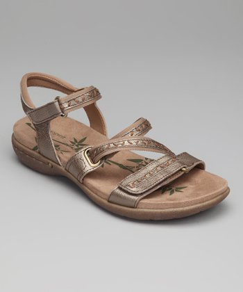 Gold Cloverly Sandal