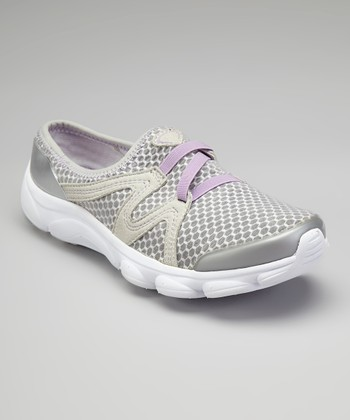 Light Gray Riptide Slip-On Sneaker