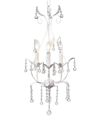 White Pear Chandelier