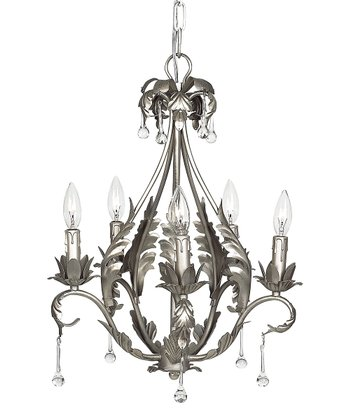 Pewter Caesar Chandelier