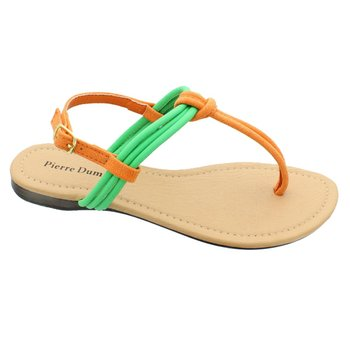 Turquoise & Orange River Sandal