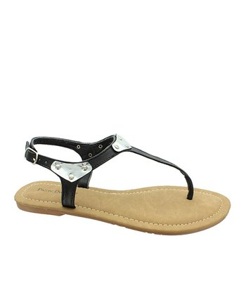 Black Melody Sandal