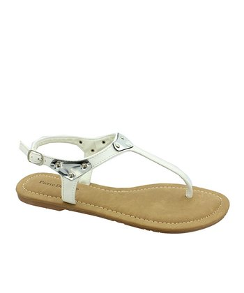 White Melody Sandal
