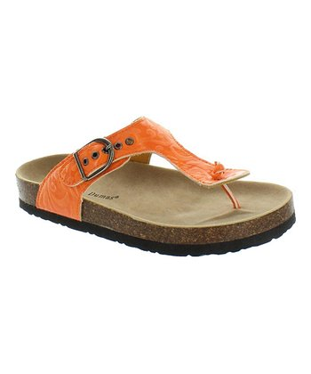 Orange Bork 15 Sandal