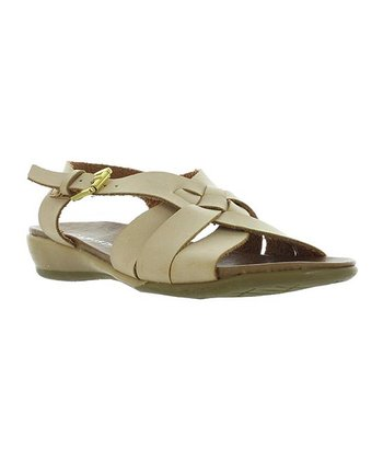 Natural Braid Cary Sandal