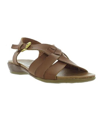 Whiskey Braid Cary Sandal