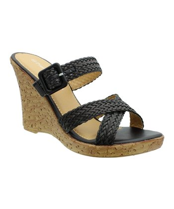 Black Alice Wedge