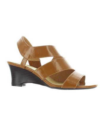 Tan Agnes Wedge