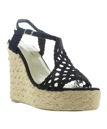 Black Patty Espadrille