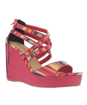 Red Stripe Comchita Wedge