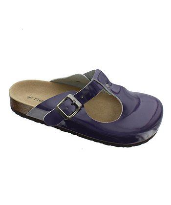 Purple Bork 13 Cutout Mule