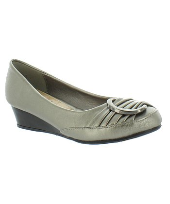 Silver Nikki 1 Wedge