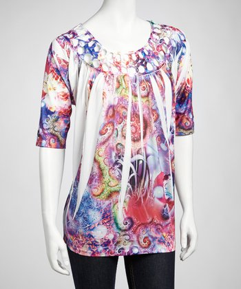 Purple & Pink Sublimation Top