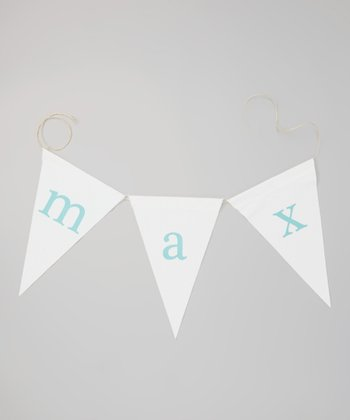 Canvas Personalized Alphabet Banner