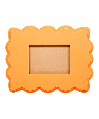 Orange 5'' x 7'' Beveled Frame