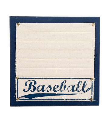 Navy 'Baseball' Memo Board