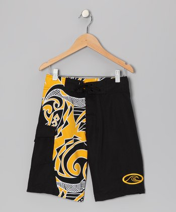 Black Island Stoke Boardshorts - Boys