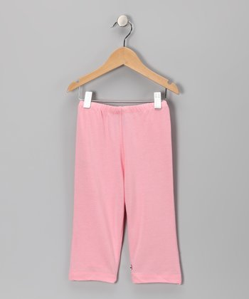 Pink Soy Leggings - Toddler