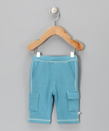 Ocean Soybean-Blend Cargo Pants - Infant & Toddler