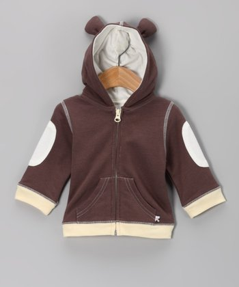 Brown Bear Hoodie - Infant