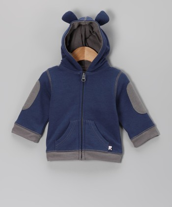 Blue Bear Hoodie - Infant